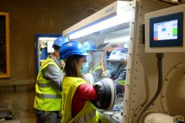 The Federal Company for Radioactive Waste Disposal BGE in Germany is a new partner in the Mont Terri project